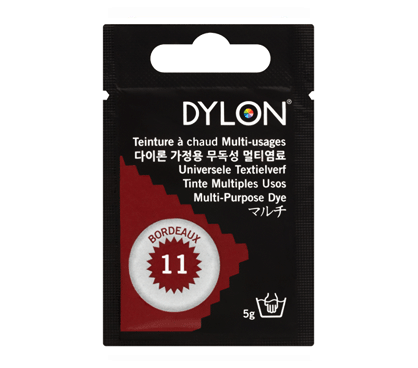 Dylon Bordeaux Multi-Purpose Dye 5g (pack of 3)