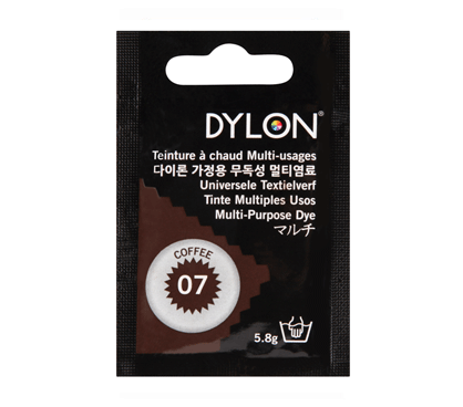 Dylon Coffee Multi-Purpose Dye 5g (pack of 3)