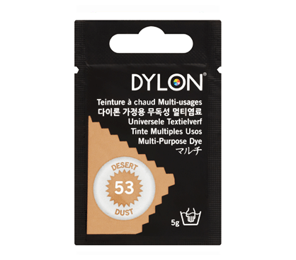 Dylon Desert Dust Multi-Purpose Dye 5g (pack of 3)