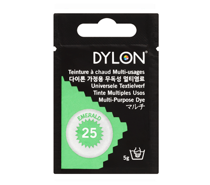 Dylon Emerald Green Multi-Purpose Dye 5g (pack of 3)