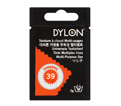 Dylon Tangerine Orange Multi-Purpose Dye 5g (pack of 3)