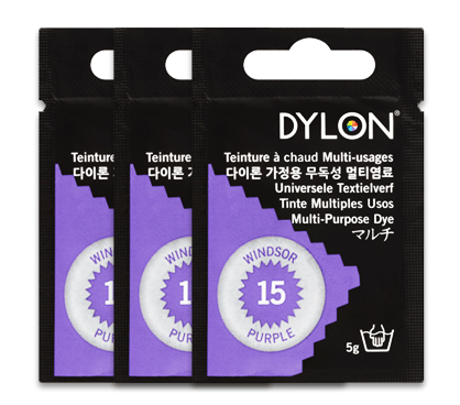 Dylon Windsor Purple Multi-Purpose Dye 5g (pack of 3)