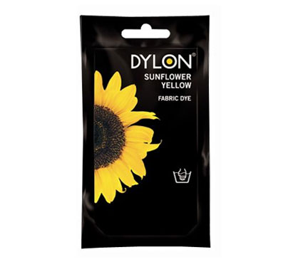 Dylon Sunflower Yellow Hand Dye 50g