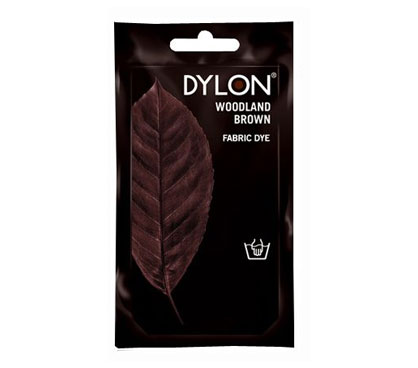 Dylon Woodland Brown Hand Dye 50g