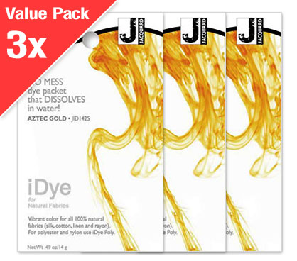 IDye Aztec Gold (3x Value Pack)