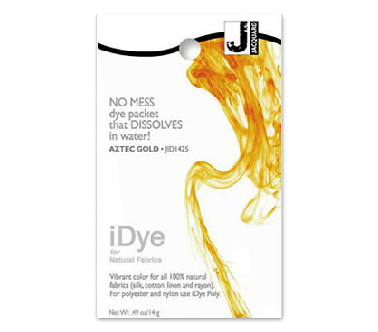 IDye Aztec Gold Fabric Dye