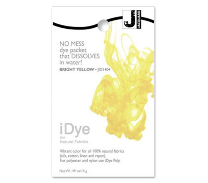 IDye Bright Yellow Fabric Dye