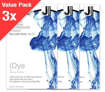 IDye Brilliant Blue (3x Value Pack)
