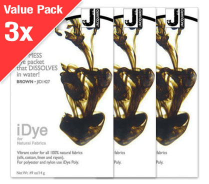 IDye Brown (3x Value Pack)