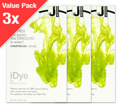 IDye Chartreuse Green (3x Value Pack)