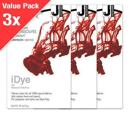 IDye Crimson Red (3x Value Pack)