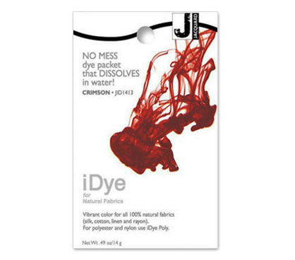 IDye Crimson Red Fabric Dye