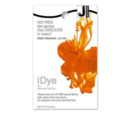 IDye Deep Orange Fabric Dye