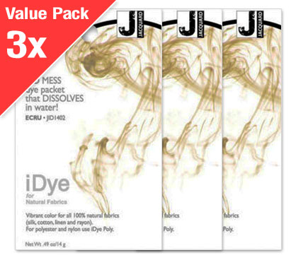 IDye Ecru (3x Value Pack)