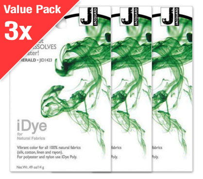 IDye Emerald Green (3x Value Pack)