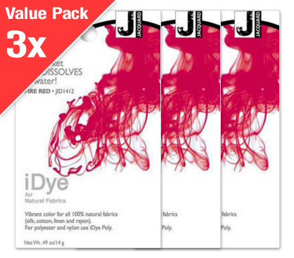 IDye Fire Red (3x Value Pack)