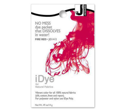 IDye Fire Red Fabric Dye
