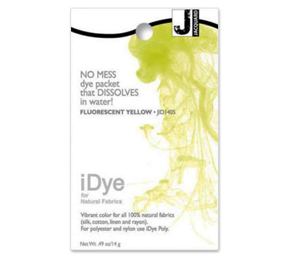 IDye Fluorescent Yellow Fabric Dye
