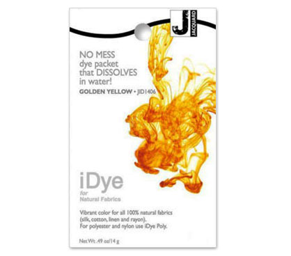 IDye Golden Yellow Fabric Dye