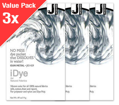 IDye Gun Metal Grey (3x Value Pack)
