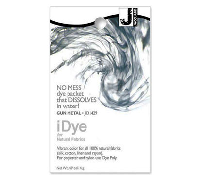 IDye Gun Metal Grey Fabric Dye