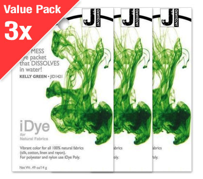 IDye Kelly Green (3x Value Pack)