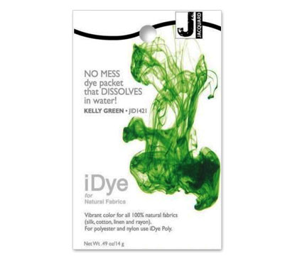 IDye Kelly Green Fabric Dye