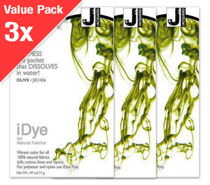 IDye Olive Green (3x Value Pack)