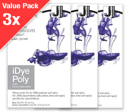 IDye Poly Lilac (3x Value Pack)