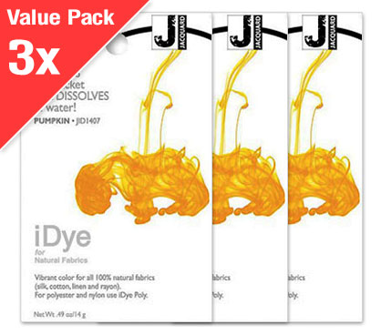 IDye Pumpkin Yellow (3x Value Pack)