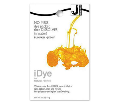 IDye Pumpkin Yellow Fabric Dye