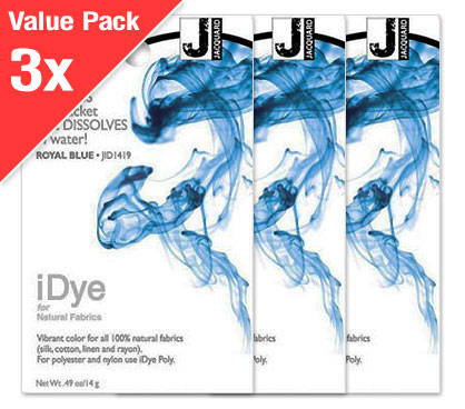 IDye Royal Blue (3x Value Pack)