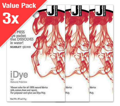 IDye Scarlet Red (3x Value Pack)