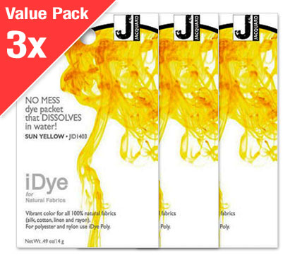 IDye Sun Yellow (3x Value Pack)
