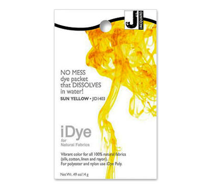 IDye Sun Yellow Fabric Dye