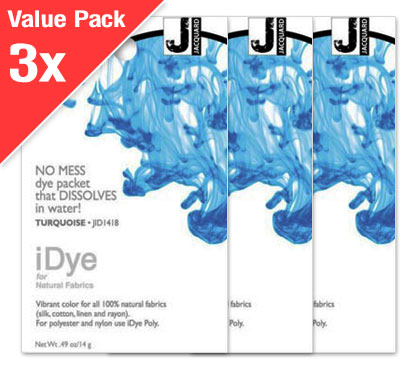 IDye Turquoise (3x Value Pack)