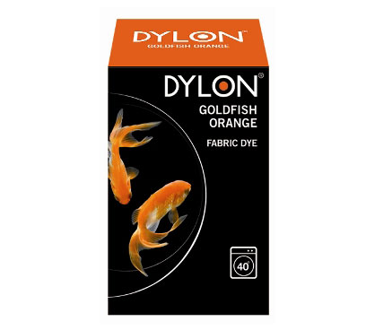 Dylon Goldfish Orange Fabric Dye