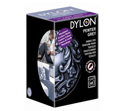 Dylon Pewter Grey Fabric Dye (Limited Edition)