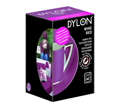 Dylon Wine Red Fabric Dye (Limited Edition)