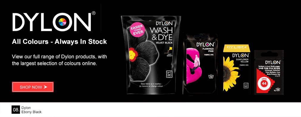 Shop Dylon Fabric Dye Range