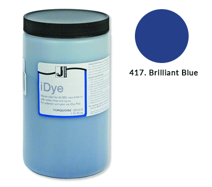 Bulk iDye Brilliant Blue Fabric Dye (1lb / 450g)