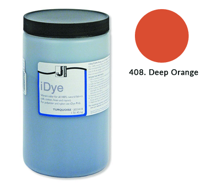 Bulk iDye Deep Orange Fabric Dye (1lb / 450g)