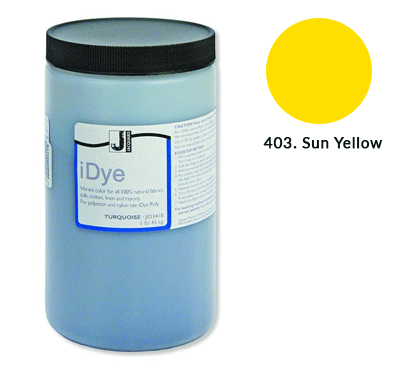 Bulk iDye Sun Yellow Fabric Dye (1lb / 450g)