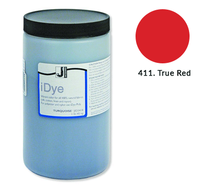 Bulk iDye True Red Fabric Dye (1lb / 450g)