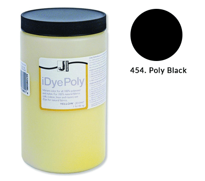 Bulk IDye Poly Black Fabric Dye (1lb / 450g)