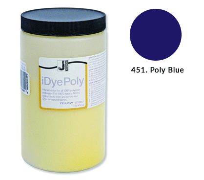 Bulk IDye Poly Blue Fabric Dye (1lb / 450g)