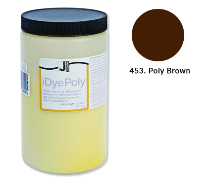 Bulk IDye Poly Brown Fabric Dye (1lb / 450g)