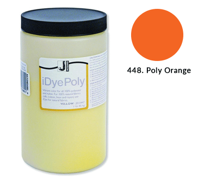 Bulk IDye Poly Orange Fabric Dye (1lb / 450g)