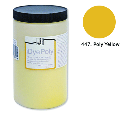 Bulk IDye Poly Yellow Fabric Dye (1lb / 450g)
