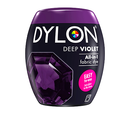 DYLON Deep Violet All-In-1 Fabric Dye Pod 350g